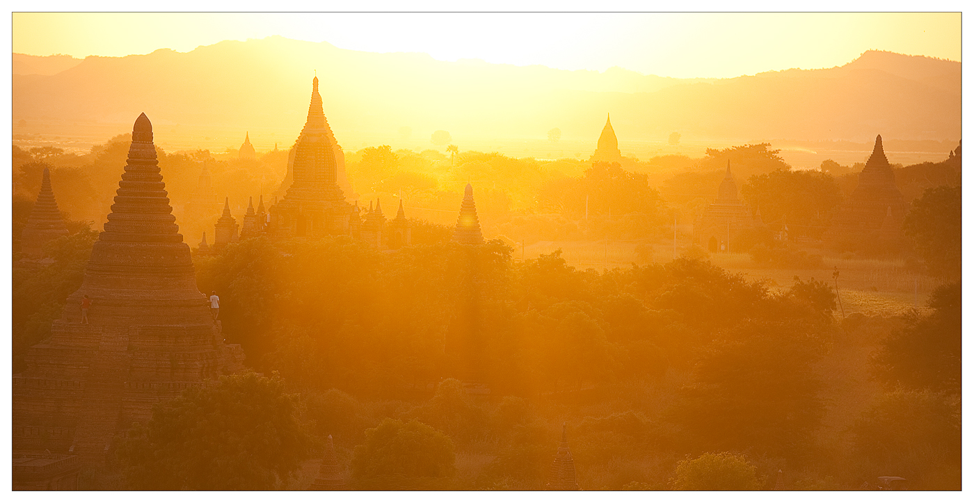 Bagan in fire...!?